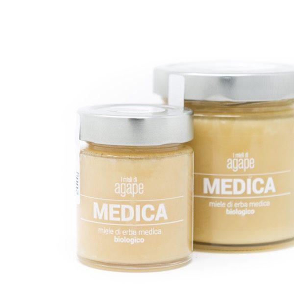 agape miele biologico di erba medica