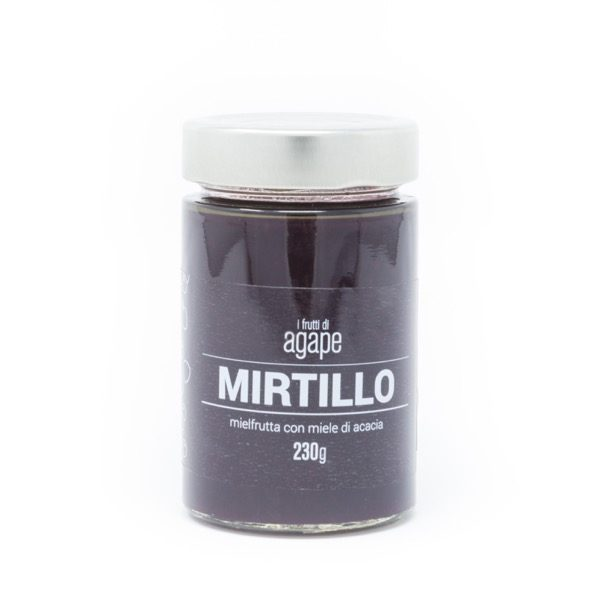 Mielfrutta mirtillo miele biologico agape