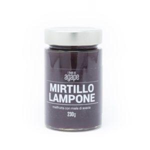 Mielfrutta mirtillo lampone miele biologico agape