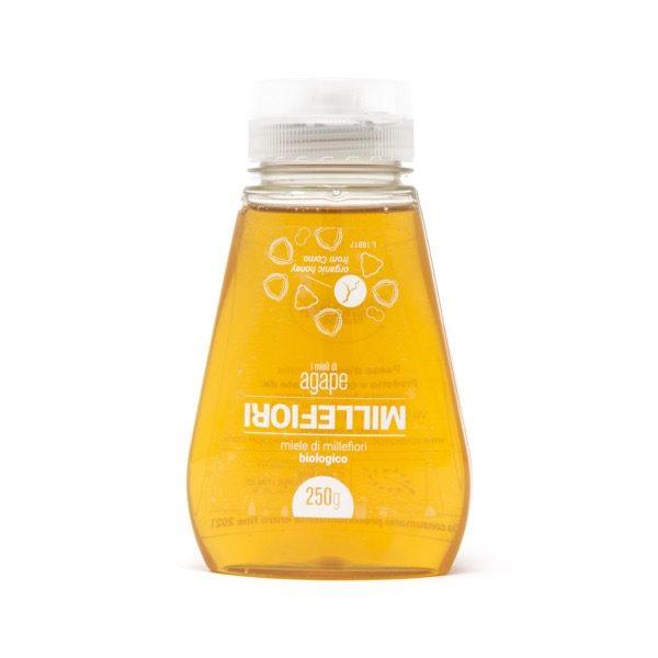 sottosopra millefiori sqeeze miele biologico agape agricoltura italia